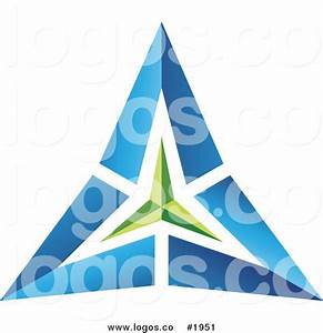 Blue Triangle Clipart (43+)