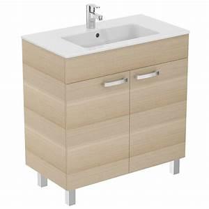 meuble 80 cm et lavabo plan e3257 With meuble 80 cm