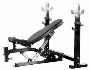 FitnessZone: Powertec Olympic Bench WB-OB15