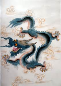 Ancient Chinese Dragon Paintings