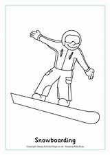 Colouring Snowboarding Olympics Winter Coloring Olympic Sheets Crafts Games Printables Activities Ski Jeux Olympique Activityvillage Activity Snowboard Snowboarder Preschool Olympiques sketch template