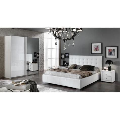 chambre cdiscount chambre a coucher moderne laqu blanc brillant with