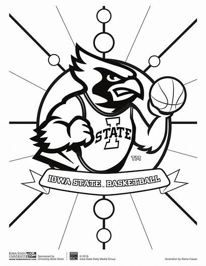 Coloring Pages State Wednesday Iowa Printable Nc
