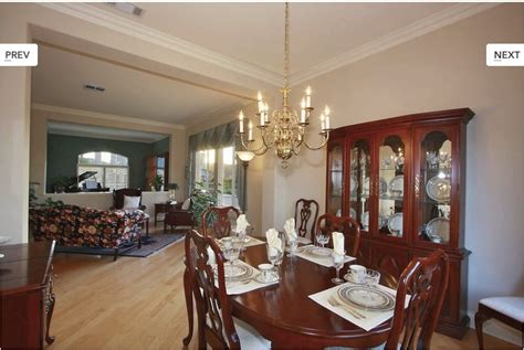 Modern Traditional Dining Room Before And After San
