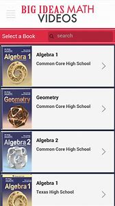 Big ideas algebra 1 assessment book answers
