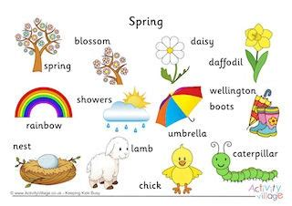 144 | spring vocabulary printables av2