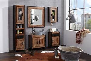Badmöbel Vintage Look : unterschrank caribe vintage industrial ~ Bigdaddyawards.com Haus und Dekorationen