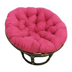 rattan papasan chair with microsuede cushion ebay