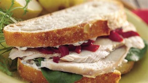 hot turkey breast sandwich recipe roasted turkey sandwiches recipe from betty crocker