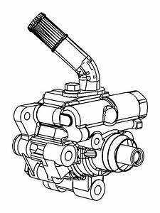 Dodge Durango Power Steering Pump  Liter  Gear  Linkage