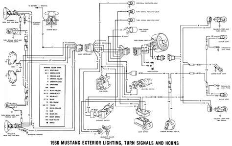 wiring diagram 1966 mustang wiring diagram manual 1966