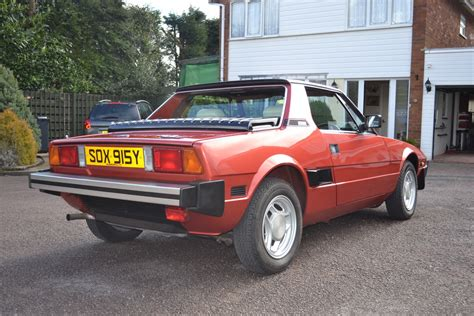 Fiat X19 Bertone by Immaculate 1983 Bertone X1 9 With Only 2 380 Up For