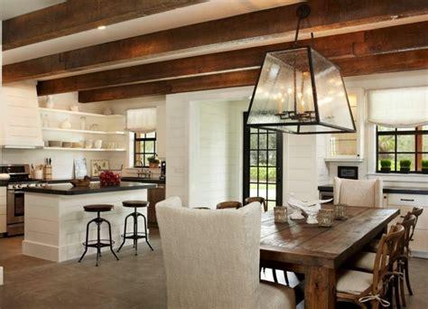 et decoration cuisine décoration cuisine cagne accueillante et chaleureuse