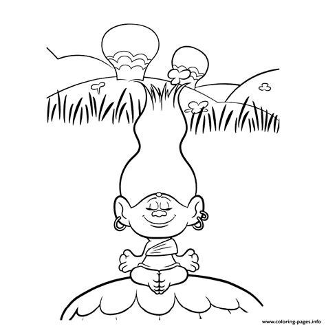 Dj Baby Kleurplaat by Trolls Coloring Pages Coloring Home