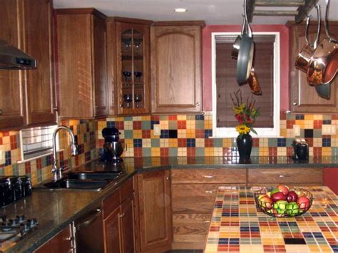 glass tile backsplash for kitchen ceramic tile backsplashes hgtv 6855