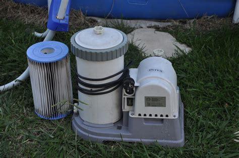 pompe piscine intex mode d emploi piscine intex 3 66 x 0 76 grosse pompe filtre b annonce sur sideplace