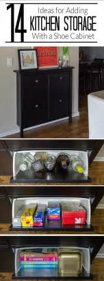 kitchen counter storage ideas add kitchen storage in a small space