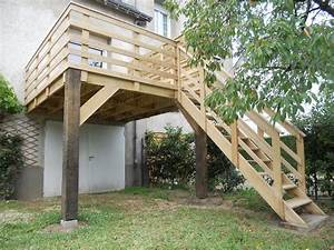 nivremcom hauteur reservation terrasse bois diverses With terrasse en bois en hauteur