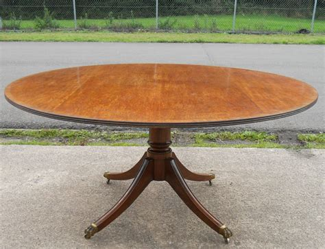 large round pedestal dining table large round mahogany pedestal dining table to seat eight