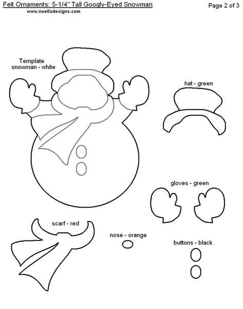 immagine di dettaglio per free printable modelli ornamento di natale feltro pagina 2