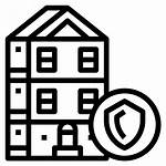 Building Icon Safe Insurance Protected Icons Security