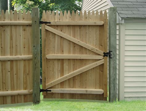 Wood Fence Gate Ideas • Fences Ideas