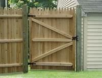 wood fence gates Wood Fence Gate Ideas • Fences Ideas