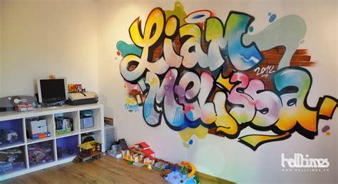 graff chambre graffiti fresque chambre enfant halltimes graffeur