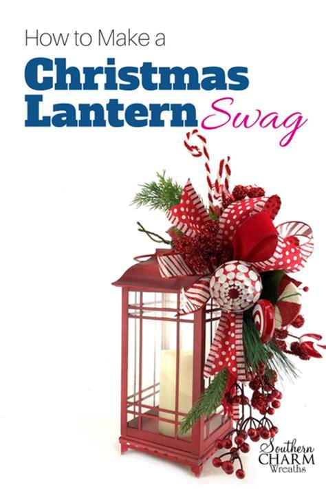 christmas lantern swag southern charm wreaths