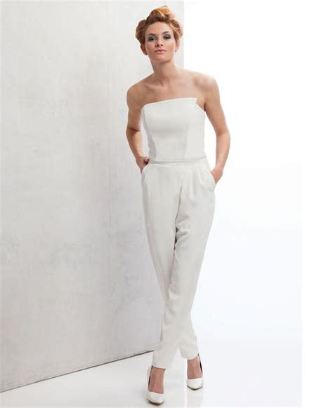 jumpsuit hochzeit braut jumpsuit hochzeit brautkleid standesamt kleid