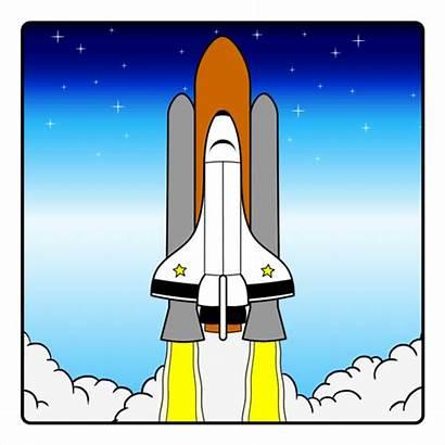 Cartoon Spaceship Spaceships Draw Clipart Space Ship