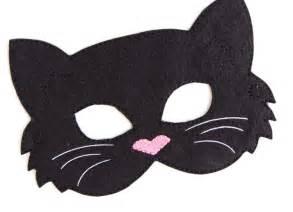cat masks cat mask black cat costume felt mask mask