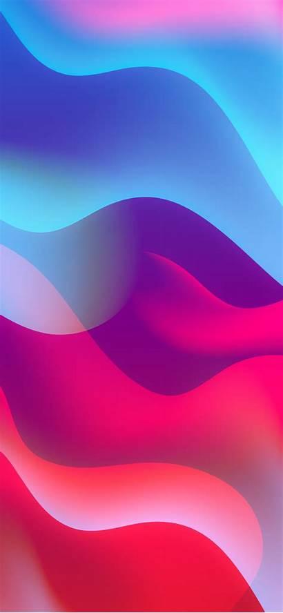Gradient Wallpapers Spectrum Iphone Waves Backgrounds Ipad