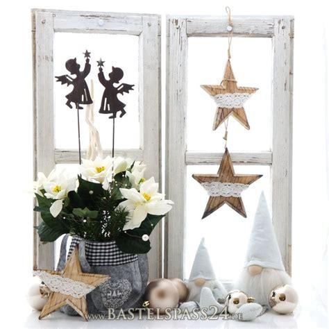 Fensterdekoration Weihnachten Selber Machen by Fensterdeko Weihnachten Mit Landhaus Deko Pfiffig Selber