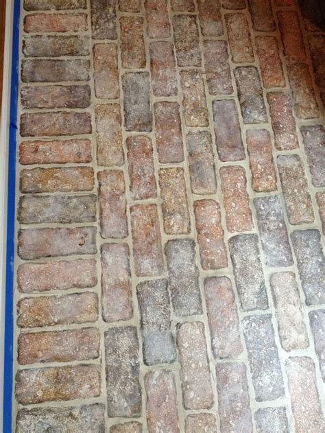 faux brick floor tile brick floors houses flooring picture ideas blogule