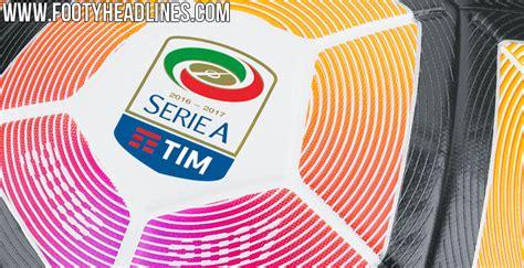 Nike Serie A 2016-2017 Ball geleakt - Nur Fussball