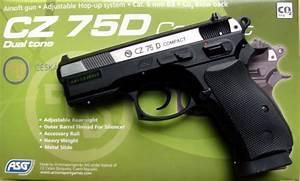 Arme Airsoft Occasion : airsoft 1 joules co2 pistolet a bille replique bb cz 75d dual tone airsoft promo replique d ~ Medecine-chirurgie-esthetiques.com Avis de Voitures