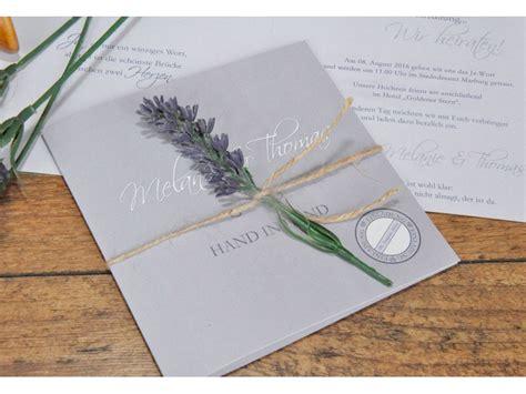 einladungskarte hochzeit lavendel fliederfarben