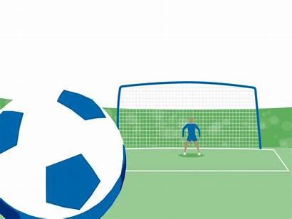 Kick Penalty Soccer Goal Ball Scene Dribbble