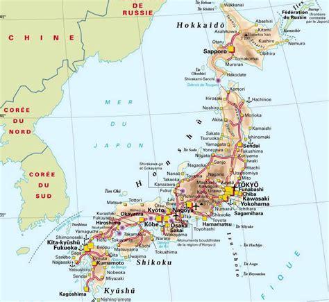 maps  japan detailed map  japan  english tourist