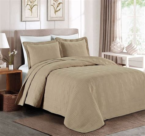 Coverlet King by 3 Soft Oversized 118 Quot X106 Quot Plaid Bedspread