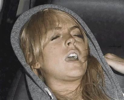 Lohan Pizza Lindsay Gifs Deal Drunk Meme