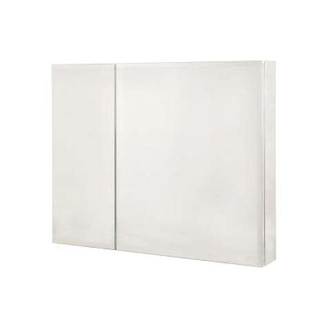Home Depot Recessed Medicine Cabinets by Pegasus 30 In X 26 In Recessed Or Surface Mount Medicine