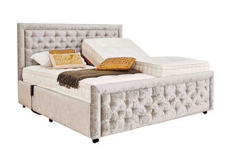 King Bed Frame And Mattress by Mibed Claremont King Size Adjustable Bed Furniture