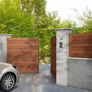 Barrière Bois Castorama : les 25 meilleures id es concernant portail bois sur ~ Premium-room.com Idées de Décoration