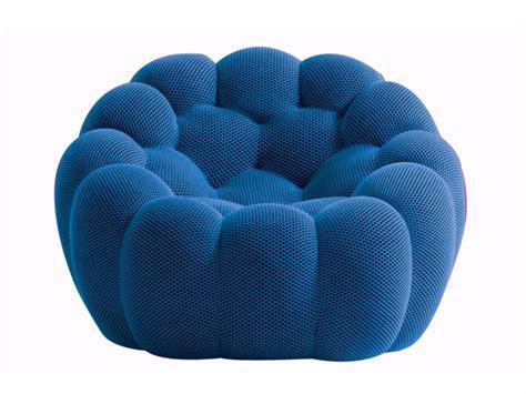 canape en bois et tissu fauteuil by roche bobois design sacha lakic