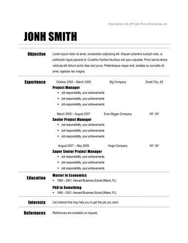 basic resume examples resume builder
