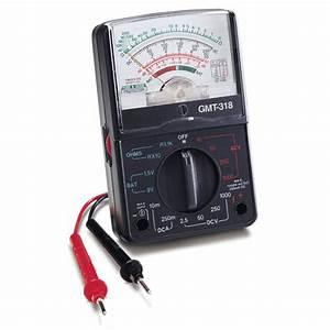 Analog Multimetre Gmt