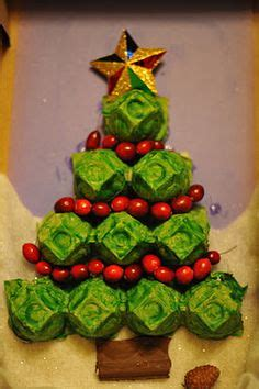 egg carton christmas tree xmas craft pinterest trees
