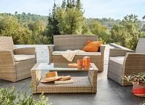 Salon de jardin, Table et Chaise Mobilier de jardin Leroy Merlin